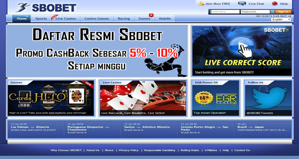 Link Alternatif Sbobet Mobile Indonesia